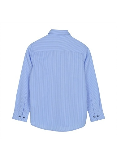 Silversun Kids Uzun Kol Önden Düğmeli Klasik Erkek Çocuk Gömlek Gc 316333 Mavi